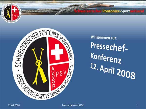 Pressechef-Konferenz 2008